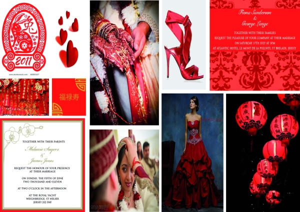 wedding, invitations, Chinese New Year, Valentine's, red