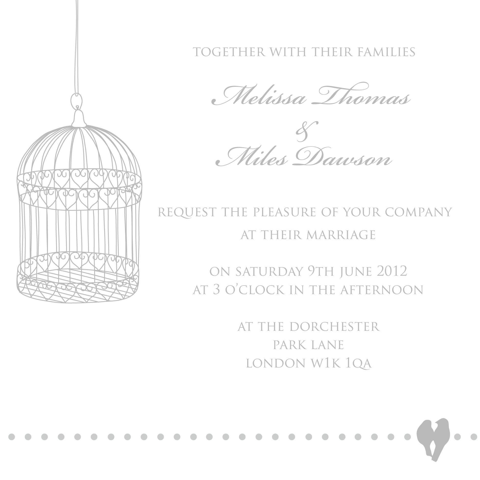 Wedding Invitations In Elegant Shades of Grey | Ananya Blog