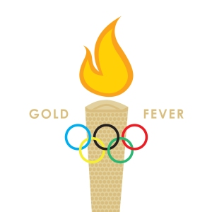 Olympics inspired greeting card by Ananya