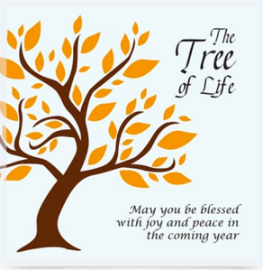 Tree of Life Rosh Hashanah Card