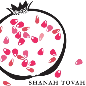 Shanah Tovah, Jewish New Year card