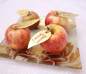 Table decor, Rosh Hashanah