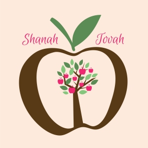 Rosh Hashanah, greeting card, Ananya