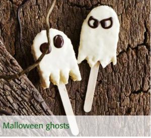 Ghost cakes Halloween ideas