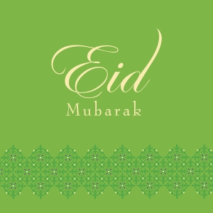 Eid greeting card by Ananya