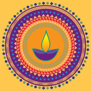 Diwali, greeting card, Ananya Cards