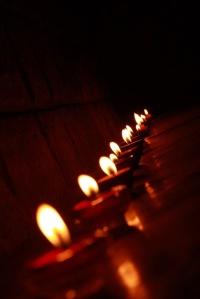 Diwali, lights, diya
