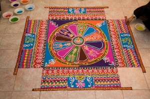 Diwali Rangoli, Festival of Lights