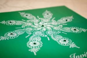 Emerald, pantone colour of the year 2013. Autumn winter trends 2013 by Ananyacards.com