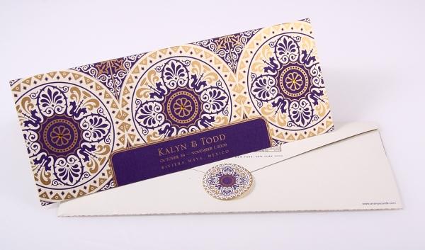 Bespoke wedding invitation_ananyacards.com