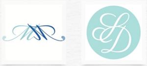 personalised monogram