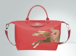 Langchamp's galloping horse handbag