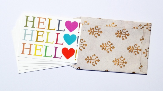 romantic love notecards