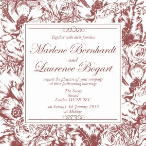 Invitation in Marsala